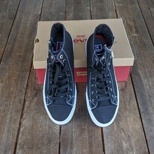 Levi's Jean Style Mid-Height Sneakers 9.5